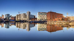 Salthouse Dock (Philip Brookes) Tags: reflection salthouse dock liverpool merseyside water building architecture strandstreet
