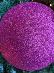 Sparkles (earthdog) Tags: 2019 googlepixel4 pixel4 androidapp moblog cameraphone christmas tree christmastree sparkle ornament purple