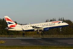 G-LCYE Embraer 170 EGPH 31-10-19 (MarkP51) Tags: edinburgh airport edi egph scotland airliner aircraft airplane plane image markp51 nikon d7200 nikonafp70300fx sunshine sunny glcye embraer 170 bacityflyer cj cfe