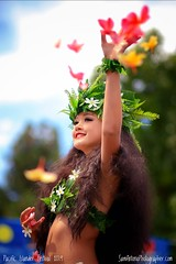 """""""Dancing is the loftiest, the most moving, the most beautiful of the arts. For it is no mere translation or abstraction of life. It is life itself."""" -Henry Haveloc (Sam Antonio Photography) Tags: hawaii hawaiian pifa dancer danceperformance flowers polynesian performance islander pacificislanderfestival pacificislander sandiego california portrait samantoniophotography smile female girl canon"""
