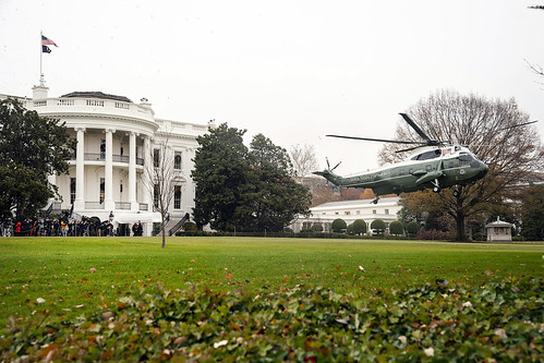 President Trump Departs for London by The White House, on Flickr