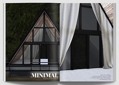 MINIMAL - Mountain Cabin (MINIMAL Store) Tags: minimal mountain cabin mainstore release gallery skybox building decoration decor secondlife sl