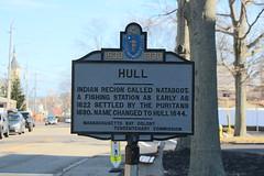 Massachusetts Bay Colony Tercentenary Commission Marker  - Hull (Stephen St-Denis) Tags: massachusettsbaycolonytercentenarycommissionmarkershistoricalmarker hull plymouthcounty historicmarker