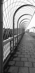 Valley Bridge (phil da greek) Tags: uk scarborough northyorkshire valleybridge blackwhite