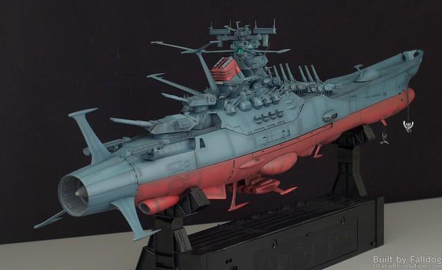 1/350 Space Battleship Yamato WIP by Judson Weinsheimer