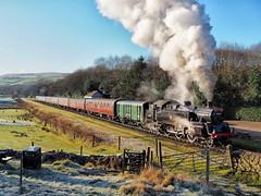 80097 departing Irwell Vale 01-12-19 (Robin Patrick's Trains) Tags: 80097 east lancs railway irwell vale santa special