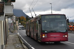 Trolleybus VanHool AG-300T n°4 en service sur la ligne 201. © Marc Germann (Marc Germann) Tags: trolleybus naw bt25 autobusvanhoolnewag300 vanhool ag300t remorque retrobusléman retrobus bus convois sbbcffffs trains fbw nawhesssiemens naw2 scania man retro historique historic ligne201 ligne6 ligne7 chateau autobus ligne19 transportspublics transport transportspublicslausannois vmcv veveymontreuxchillionsvilleneuve