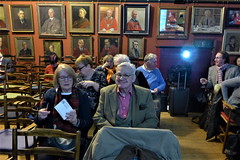 Enid & George Powers look forward to the films (photo by Roger Johnson)