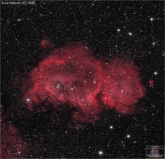 The Soul Nebula (IC 1848) (The Dark Side Observatory) Tags: tomwildoner night sky deepsky space outerspace williamsoptics telescope apo asi290mc zwo astronomy astronomer science canon canon6d deepspace guided weatherly pennsylvania observatory darksideobservatory stars star tdsobservatory backyardeos earthskyscience redcat asi071mcpro asi071 soulnebula ic1848 cassiopeia astrometrydotnet:id=nova3780564 astrometrydotnet:status=solved