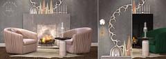 Loft & Aria - Eira Vignette @ FaMeshed (Colleen Desmoulins / Loft & Aria) Tags: christmas xmas holidays second life mesh furniture living room interior design 3d