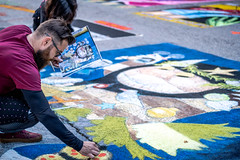 2019 Via Colori Festival (burnt dirt) Tags: houston texas candid documentary street photography downtown city urban metro outdoor people person fujifilm xt3 fujinon 50mm f2 style fashion life real crowd group emotion expression portrait close art artist chalk pastel paint line sidewalk little monsters