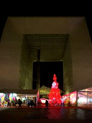 Christmas at La Défense (gerdstehle1) Tags: noel christmas defense paris