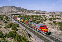 ATSF 602 West at Laguna, NM (thechief500) Tags: atsf bnsf gallupsubdivision railroads laguna nm usa santaferailway newmexico
