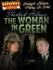 """We shan't be seeing one of Matthew's Rifftrax travesties tonight; instead we have Bridget Nelson & Mary Jo Pehl's take on """"The Woman in Green"""""""
