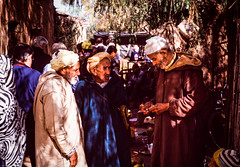 Talking Point (gwpics) Tags: people clothing atlasmountains market sunlight streetphotography morocco berber africa african analog analogue arab archive editorial everydaylife film kodachrome leica lifestyle moroccan northafrica person society street streetlife