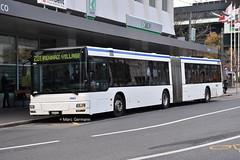Autobus articulé MAN Lion's City n°674 en service sur la ligne 201. © Marc Germann (Marc Germann) Tags: trolleybus naw bt25 autobusvanhoolnewag300 vanhool ag300t remorque retrobusléman retrobus bus convois sbbcffffs trains fbw nawhesssiemens naw2 scania man retro historique historic ligne201 ligne6 ligne7 chateau autobus ligne19 transportspublics transport transportspublicslausannois vmcv veveymontreuxchillionsvilleneuve