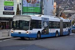 Trolleybus VanHool AG-300T n°13 en service sur la ligne 201. © Marc Germann (Marc Germann) Tags: trolleybus naw bt25 autobusvanhoolnewag300 vanhool ag300t remorque retrobusléman retrobus bus convois sbbcffffs trains fbw nawhesssiemens naw2 scania man retro historique historic ligne201 ligne6 ligne7 chateau autobus ligne19 transportspublics transport transportspublicslausannois vmcv veveymontreuxchillionsvilleneuve
