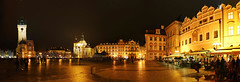 prague square (johnsinclair8888) Tags: prague czechrepublic square panorama affinityphoto nikon 20mm d850 johndavis night reflection