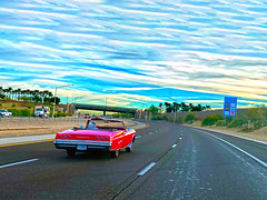 December in Arizona (oybay©) Tags: chevrolet chevy arizona highway arizonahighways classiccar color december surprisearizona 303loop freeway road vista viewpoint dashboard appleiiphone11promax iphone appleiphone promax iphone11
