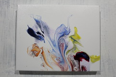 At the Circus (thefreckledardor) Tags: fluid acrylic art canvases