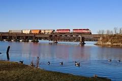 Merrimac, Wisconsin (UW1983) Tags: wisconsinsouthern l467 wisconsin wisconsinriver merrimac lakewisconsin wsor reedsburgsub wamx4223