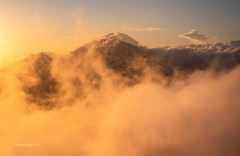 Volcano Sunrise (pietkagab) Tags: mt mount batur volcano volcanic volcanoes peak clouds sunrise range bali indonesia indonesian landscape morning asia asian southeast pietkagab photography piotrgaborek sonya7 travel trip tourism trekking trek hike hiking highlands highaltitude adventure