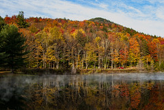 Chill in the Air (James Korringa) Tags: lake scenic water fall autumn color peaceful explore
