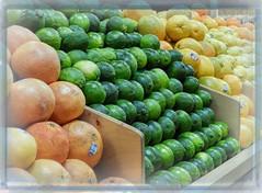 Yes, We Have No Bananas (clarkcg photography) Tags: fruit banana orange lime grapefruit genetics crazytuesday inexplore