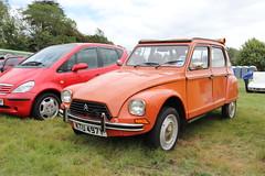 Citroen Dyane 6 KTU497Y (Andrew 2.8i) Tags: festival unexceptional buckinghamshire middle claydon meet show coche voitures voiture autos auto cars french economy 6 dyane citroen ktu497y