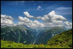 Blick über das Zillertal ... Austria (tingel79) Tags: austria österreich landschaft landscape tingelpixx natur nature view travel urlaub himmel sky cloud wolken photography photograph blauundgrün blueandgreen foto sony hdr