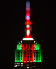 362/365 Empire State Building Christmas Lights
