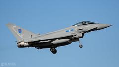 Chaos 11 (lee adcock) Tags: 6sqn chaos11 nikond500 raf runway07 tamron150600g2 zk362 airplane typhoon typhoonfgr4