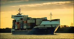 191203-1 (sz227) Tags: katharinaschepers containerschiff containerfeeder schiff ship vessel nordostseekanal kielcanal sehestedt sz227 zackl sony sonyilca77m2