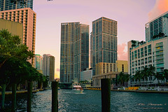 An afternoon of the river. (Aglez the city guy ☺) Tags: miamiriver riverwalktrail river yacht architecture afternoon urbanexploration outdoors trees walking walkingaround waterways