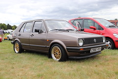 Volkswagen Golf 1.8 GL C590PCH (Andrew 2.8i) Tags: festival unexceptional buckinghamshire middle claydon meet show coche voitures voiture autos auto cars german hatch hatchback vw mark ii 2 mk mk2 18gl 1800gl 1800 gl 18 golf volkswagen c590pch