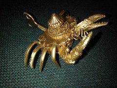 Steampunk Crab: Series 4- Gold Edition: War Crab Corporal (Dan Ross Artist) Tags: danrossartist steampunk crab dan ross art