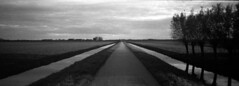 Convergence (selyfriday) Tags: film analogue panorama hp5 ilford wide 35mm hc110 5minutes20˙cdutch wijdewormer netherlands nederland holland dutch view minoltarivapanorama rivpan riva pan minolta selyfriday wwwnassiocomempty