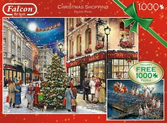 "FALCON F 11 1000 +1000 68X49CM ART 11225 CHRISTMAS SHOPPING Daniela Pirola DELUXE (Andrew Reynolds transport view) Tags: jigsaw ""jigsaw puzzle"" picture pieces large difficult falcon hobby leisure pasttime f 11 1000 68x49cm art 11225 christmas shopping daniela pirola deluxe"