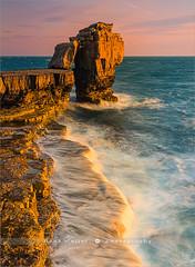 Pulpit Rock - Dorset - England (~ Floydian ~) Tags: henkmeijer photography floydian pulpitrock portlandbill unitedkingdom uk isleofportland dorset england weymouth greatbritain landmark sunset evening leefilters leelittlestopper canon canon5dmarkiv