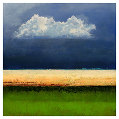Abstract horizon (Ger Veuger) Tags: abstract abstracthorizon landschap landscape acrylverf painting