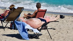 Belly Spots Sunning (LarryJay99 ) Tags: man men guy guys dude male studly manly dudes handsome people virile beach shoreline watersedge legs belly bellies oldguys horizontalguys sittingpretty atlanticocean toes headtotoe candid unsuspecting shirtless peekingnipples barefoot barfuss sandyfeet masculine