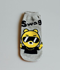 Unisex Fun Hip Hop Ankle Socks (MADNICE Professional Cosmetics) Tags: unisex fun hip hop ankle socks