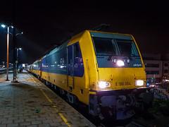 NSI 186 004 + IC9267 (Amsterdam CS) @ Antwerpen Berchem (Avinash Chotkan) Tags: ns antwerp bombardier traxx br186 akiem