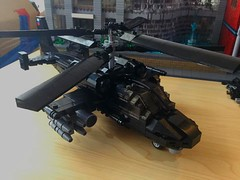 Kamov Ka-52 Alligator (Lonnie.96) Tags: lego brick moc own creation model scale russian kamov ka 52 alligator air force 2019 1990 new black heli helicopter attack reconnaissance recon coaxial rotor system ejection seats rockets cockpit fuselage gun nose tail