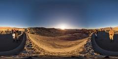 Zabriskie Point sunset, Death Valley, CA (Photon_chaser) Tags: zabriskie point death valley sunset 360deg panorama