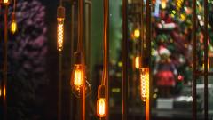 "Edison lamps for the festeve season (Bayandur ""Rhayader"" Pogosyan) Tags: christmas urbanphotography lighting yerevan armenia"