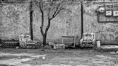 "Two armchairs (Bayandur ""Rhayader"" Pogosyan) Tags: yerevan armenia urbanphotography monochrome blackandwhite"