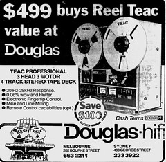 October1979No2 (mat78au) Tags: october 1979 melbourne newspaper extracts teac 4track reelreel tape deck 79 melb