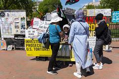 Protesta frente a la Casa Blanca (Samarrakaton) Tags: samarrakaton 2019 nikon d750 2470 washingtondc eeuu usa estadosunidos street callejera urbana gente people