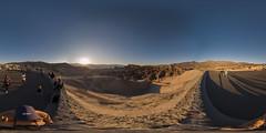Zabriskie Point, Death Valley, California (Photon_chaser) Tags: zabriskie point death valley california sunset 360 360deg